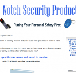 Top Notch Security Products