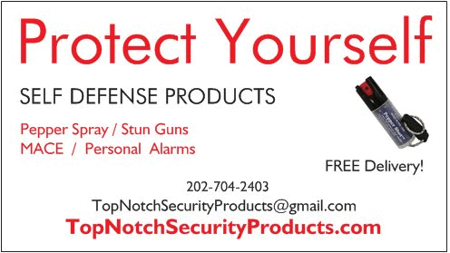 Top Notch Security Products Generic Business Card